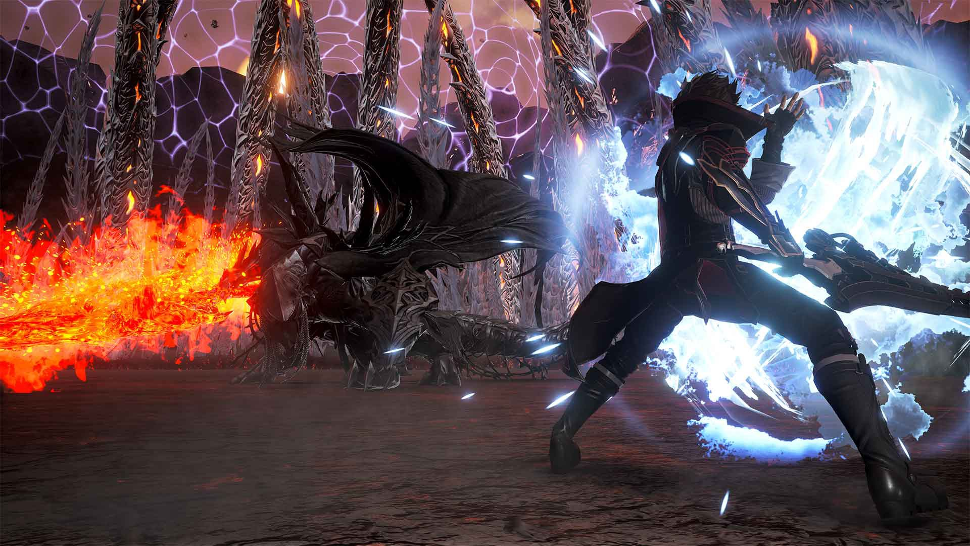 Code Vein, bandai namco, north america, us, australia, japan, asia, europe, release date, gameplay, features, price, buy, ps4, playstation 4, xbox one, xone, update, dlc, Hellfire Knight, expansion