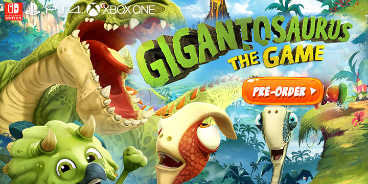 Gigantosaurus: The Game,Playstation 4, PS4, XONE, Xbox One, switch, nintendo switch, Wild Sphere, Outright games ,release date, features,price,pre-order now,gigantosaurus video game