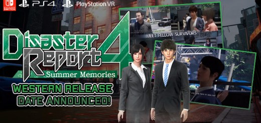 Disaster Report 4: Summer Memories, PS4, PlayStation 4, Nintendo Switch, switch, US, North America, EU, Europe, Western release, release date, update, NIS America