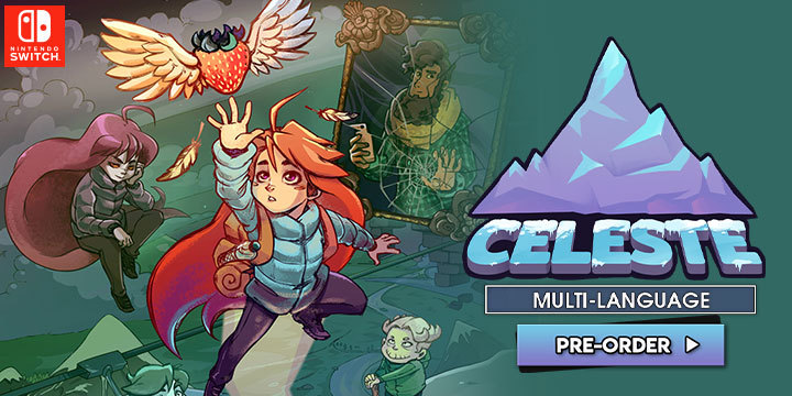 Celeste, Nintendo Switch, Switch, Japan, Flyhigh Works, Multi-language, pre-order, gameplay, features, price, trailer, release date