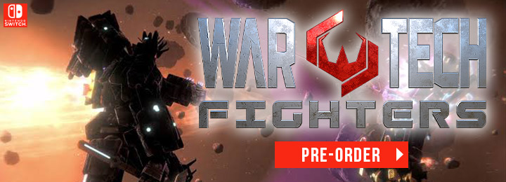 War Tech Fighters, Switch, Nintendo Switch, Europe, release date, features, price, pre-order now, trailer, Physical Edition, Blowfish Studios, Drakkar Dev, Red Alert Games