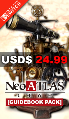 NEO ATLAS 1469 [GUIDEBOOK PACK] Artdink