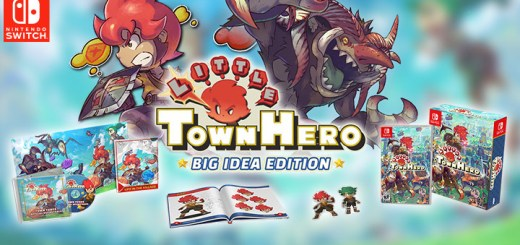 Little Town Hero, Big Idea Edition, Little Town Hero (Big Idea Edition), Nintendo Switch, Switch, US, Pre-order, gameplay, features, release date, price, trailer,screenshots, NIS America
