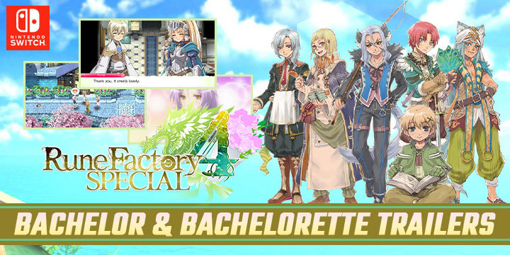 Rune Factory 4 Special, Nintendo Switch, Switch, US, Western release, localization, Pre-order, XSEED Games, Europe, Pre-order, Australia, gameplay, features, release date, price, trailer, screenshots, update, Bachelor, Bachelorette, Earthmate,