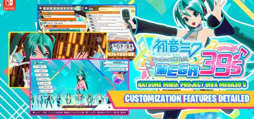 Hatsune Miku: Project Diva Mega39's, Nintendo Switch, Sega, Switch, gameplay, release date, features, Japan, trailer, Hatsune Miku Project Diva Mega39's, Hatsune Miku: Project Diva Mega39's MegaMix, 初音ミク Project DIVA MEGA39's, price, pre-order, news, update