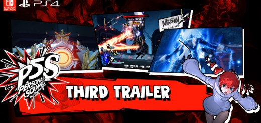 Persona 5 Scramble: The Phantom Strikers, PS4, Switch, PlayStation 4, Nintendo Switch, release date, features, price, pre-order, Japan, Atlus, P5S, news, Trailer 3, Third Official Trailer, ペルソナ5スクランブル ザ・ファントムストライカーズ