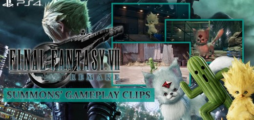 FF7, Final Fantasy 7 Remake, FF 7 Remake, Final Fantasy, Final Fantasy VII Remake, Square Enix, PS4, PlayStation 4, release date, gameplay, features, price, pre-order, Japan, Europe, US, North America, Australia, news, update, new trailer, gameplay clips, summons gameplay clips, chocobo chick, carbuncle, cactuar