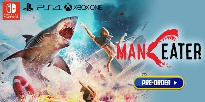 Maneater, Maneater's, PS4, Switch, PlayStation 4, Nintendo Switch, Xbox One, release date, features, price, pre-order, US, North America, Europe, Asia, Tripwire Interactive