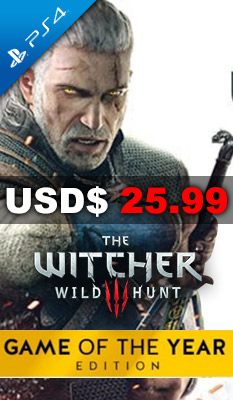THE WITCHER 3: WILD HUNT [GAME OF THE YEAR EDITION] Bandai Namco Games
