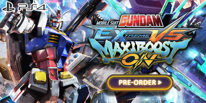 Gundam, Mobile Suit Gundam, Mobile Suit Gundam: Extreme VS. MaxiBoost ON, PlayStation 4, PS4, Bandai Namco, US, Europe, Japan, Asia, gameplay, features, release date, price, trailer, screenshots
