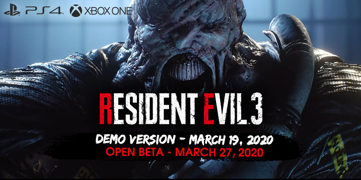 Resident Evil 3 Remake Demo Version And Open Beta Dates Locked In