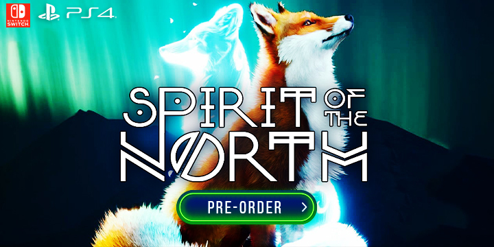 Spirit of the North, PS4, Switch, Nintendo Switch, PlayStation 4, Europe, gameplay, features, release date, price, trailer, screenshots
