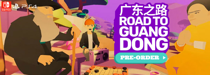 Road to Guangdong, Switch, Nintendo Switch, Playstation 4, PS4, Asia, release date, gameplay, features, price, pre-order, physical edition, Europe, Excalibur Games, Multi-language, trailer, Road 2 Guangdong