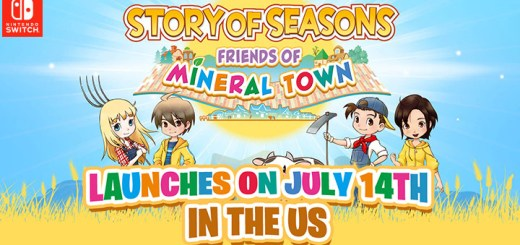 STORY OF SEASONS: Friends of Mineral Town, Harvest Moon: Friends of Mineral Town Remake, Harvest Moon, Harvest Moon: Friends of Mineral Town, Nintendo Switch, Switch, Marvelous, gameplay, features, release date, price, trailer, screenshots, Western release, update, Europe