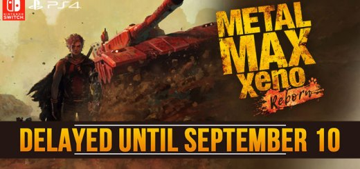 Metal Max Xeno: Reborn, Metal Max Xeno, Metal Max Xeno Remake, Metal Max Xeno HD, メタルマックス ゼノ リボーン, PS4, Switch, Japan, Kadokawa Games, PlayStation 4, Nintendo Switch, Pre-order, delayed, news, update, gameplay, trailer