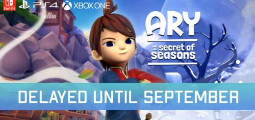 ary and the secret of seasons, ps4, playstation 4, xbox one, xone, switch, nintendo switch, us, north america, europe release date, gameplay, features, price, pre-order now, modus games, fishing cactus, eXiin, delayed, delayed to September