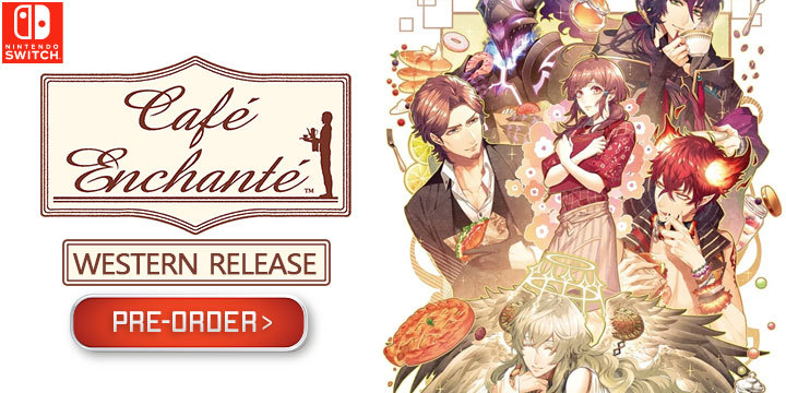 Cafe Enchante, , Nintendo Switch, Switch, US, Europe, gameplay, features, release date, price, trailer, screenshots, Western release