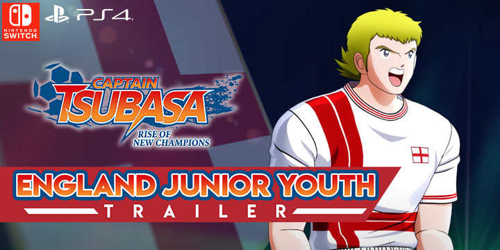 Captain Tsubasa: Rise of New Champions, PS4, PlayStation 4, Bandai Namco Entertainment, Nintendo Switch, North America, US, release date, features, price, pre-order now, trailer, Captain Tsubasa game 2020, England Junior Team, England Junior Youth Trailer, update