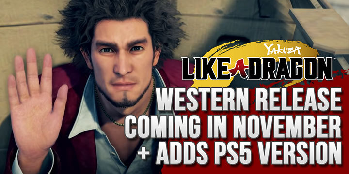 Yakuza Like A Dragon Western Release Month Announced Adds Ps5