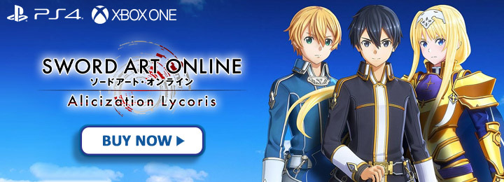 Sword Art Online: Alicization Lycoris, Sword Art Online Alicization Lycoris, PS4, PlayStation 4, Xbox One, XONE, release date, gameplay, features, price, North America, US