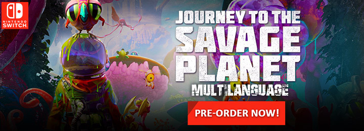 Journey to the Savage Planet , Multi-language, H2 Interactive, Nintendo Switch, Switch, Asia, gameplay, features, release date, price, trailer, screenshots