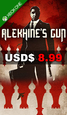 ALEKHINE'S GUN Maximum Family Games