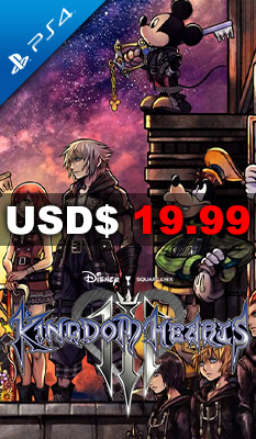 KINGDOM HEARTS III Square Enix