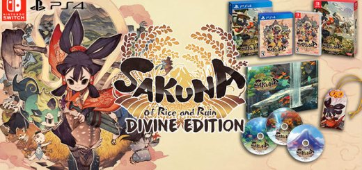 Sakuna: Of Rice and Ruin, Sakuna: Of Rice and Ruin [Divine Edition], Divine Edition, XSEED Games, PS4, PlayStation 4, Nintendo Switch, Switch, US, Pre-order, gameplay, features, release date, price, trailer, screenshots