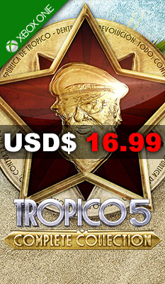 TROPICO 5 - COMPLETE COLLECTION Kalypso