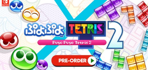 Puyo Puyo Tetris 2, Puyo Puyo Tetris, Sega, Switch, Nintendo Switch, Japan, release date, Trailer, screenshots, gameplay, features, price, pre-order now, PuyoPuyo Tetris 2, ぷよぷ3よテトリス2