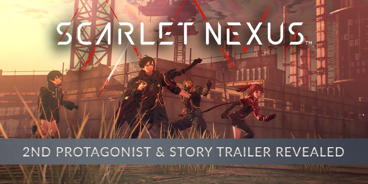 Scarlet Nexus, Bandai Namco, PS4, PlayStation 4, PS5, PlayStation 5, XONE, Xbox One, XSX, Xbox Series X, US, North America, release date, trailer, features, screenshots, pre-order now, TGS 2020, Tokyo Game Show 2020, Protagonist Kasane Randall, Kasane Randall, Second Protagonist, Playable Character, Story Trailer