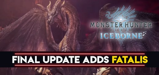Monster Hunter World: Iceborne Master Edition, Monster Hunter World, Master Edition, PlayStation 4, Xbox One, North America, US, Japan, Asia, Europe, Capcom, update, Australia, Fatalis