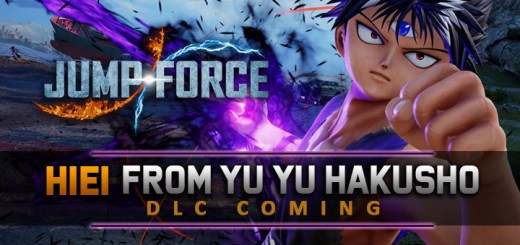 Jump Force, PlayStation 4, Xbox One, release date, gameplay, price, features, US, North America, Europe, update, news,  DLC, Switch, Deluxe Edition, Japan, Asia, Hiei, Yu Yu Hakusho