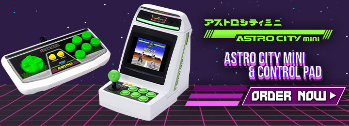 The Needs For Your Astro City Mini Game Center Kit Arcade Stick