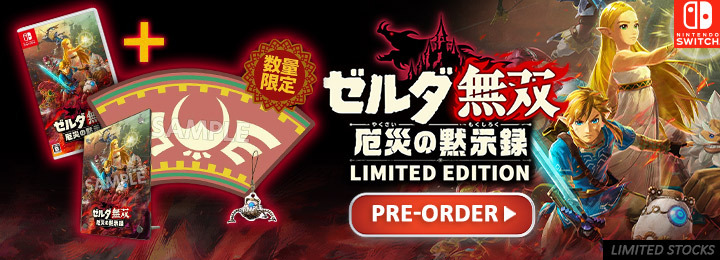 Hyrule Warriors Age Of Calamity Treasure Box For Pre Order