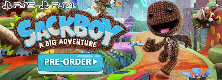 Sackboy, Sackboy: A Big Adventure, Sackboy A Big Adventure, Publisher Interactive Entertainment, Sumo Digital, PS5, PlayStation 5, PS4, PlayStation 4, release date, gameplay, price, screenshots, trailer, features, North America, Europe, Japan, Asia
