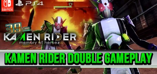 Kamen Rider, Kamen Rider: Memory of Heroez, Bandai Namco, PS4, Switch, Japan, PlayStation 4, Nintendo Switch, gameplay, features, release date, price, trailer, screenshots, Kamen Rider Double gameplay, Playable character Kamen Rider Double