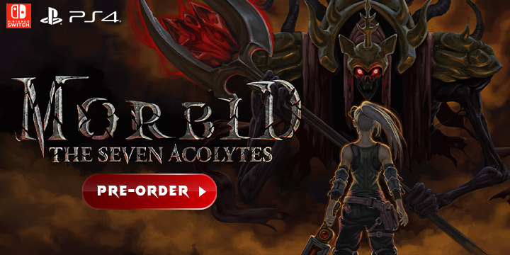 Morbid: The Seven Acolytes, PlayStation 4, Nintendo Switch, PS4, Switch, Merge Games, Europe, gameplay, features, release date, price, trailer, screenshots