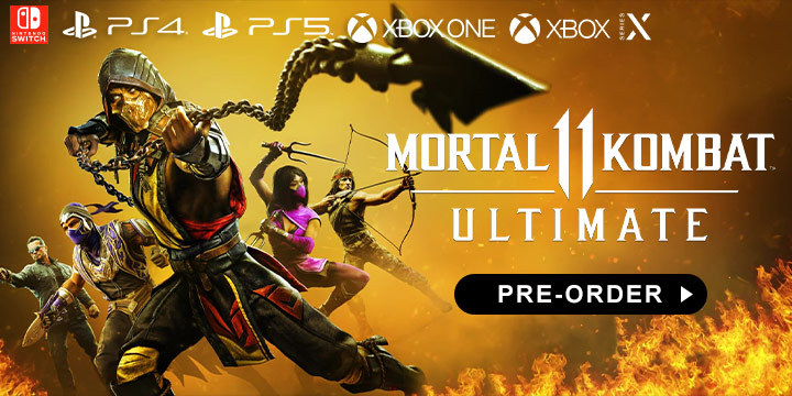 Mortal Kombat, Mortal Kombat 11, Ultimate Edition, PlayStation 4, PlayStation 5, Xbox One, Xbox Series X, Switch, XSX, XONE, Nintendo Switch, US, Europe, Asia, Warner Home Video Games, gameplay, features, release date, price, trailer, screenshots