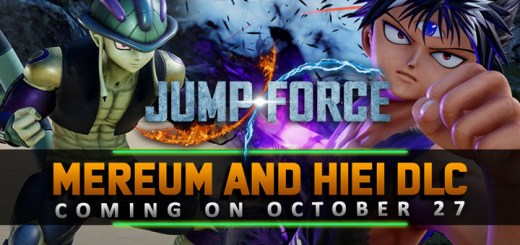 Jump Force, PS4, XONE, PlayStation 4, Xbox One, Nintendo Switch, Switch, Deluxe Edition, DLC, gameplay, features, screenshots, Bandai Namco, update, Meruem, Hunter x Hunter, Hiei, Yu Yu Hakusho