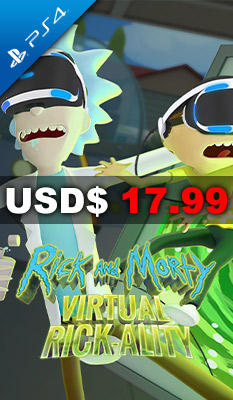 RICK AND MORTY SIMULATOR: VIRTUAL RICK-ALITY Nighthawk Interactive