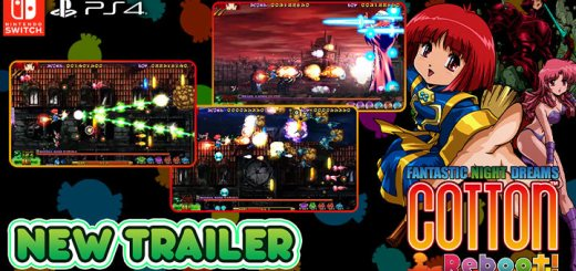 gameplay trailer, update, Cotton Reboot, PS4, Switch, PlayStation 4, Nintendo Switch, Japan, Beep Japan, gameplay, features, release date, price, new trailer, screenshots, コットンリブート