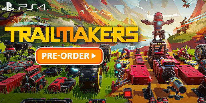 Trailmakers, PS4, PlayStation 4, Japan, EXNOA, gameplay, features, release date, price, trailer, screenshots, トレイルメーカーズ