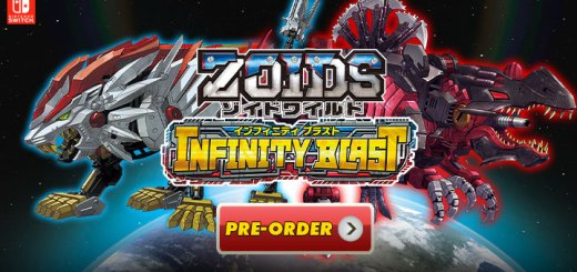 Zoids Wild: Infinity Blast, Zoids Wild Infinity Blast, Zoids Wild, Japan, Switch, Nintendo Switch, release date, price, pre-order, features, trailer, screenshots, Takara Tomy, ゾイドワイルド インフィニティブラスト