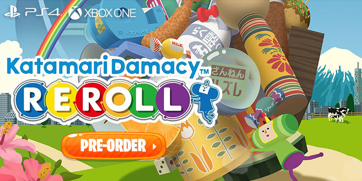 Katamari Damacy, Katamari Damacy REROLL, Bandai Namco, PS4, PlayStation 4, Xbox One, XONE, US, Japan, gameplay, features, release date, price, trailer, screenshots