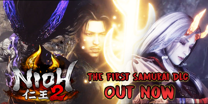 Nioh 2, Nioh, PlayStation 4, PS4, US, Pre-order, Koei Tecmo Games, Koei Tecmo, gameplay, features, release date, price, trailer, screenshots, Team Ninja, news, update, DLC, post-launch DLC, The First Samurai DLC, DLC Launch Trailer
