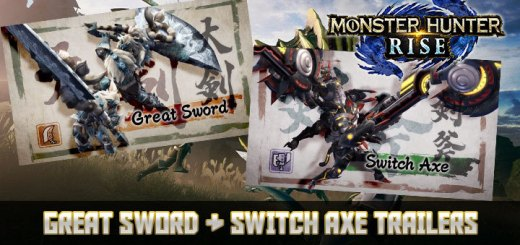Monster Hunter Rise, Monster Hunter, pre-order, gameplay, features, price, Capcom, trailer, Nintendo Switch, Switch, Japan, US, Europe, update, Great Sword, Switch Axe