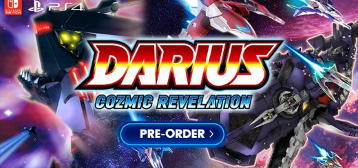 Darius Cozmic Revelation, Darius, Strictly Limited Games, Taito, PS4, Nintendo Switch, release date, Japan, pre-order, regular edition, limited edition, G-Darius HD, Dariusburst Another Chronicle EX+