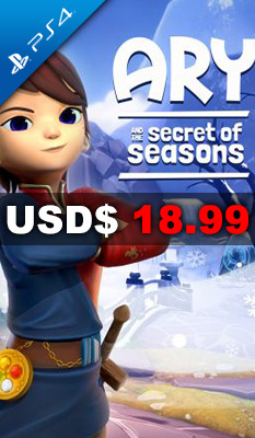 ARY AND THE SECRET OF SEASONS Modus Games