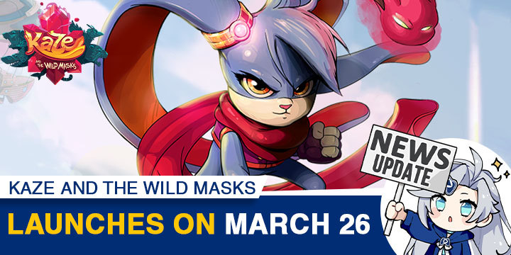 Kaze and the Wild Mask, Soedesco, US, PlayStation 4, Xbox One, Nintendo Switch, US, gameplay, features, release date, price, trailer, screenshots, update